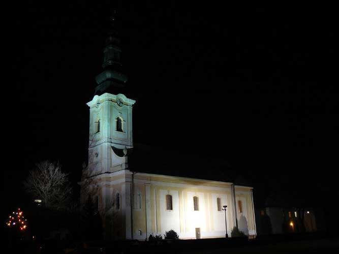 Nasvietenie kostola – Skačany (Slovakia)