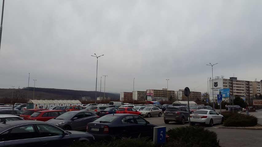 OC Optima Košice – parkovisko