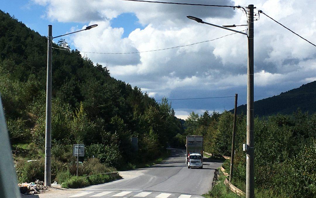 prechody pre chodcov východne Slovensko
